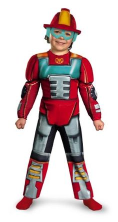 Amazon.com: Disguise Boy's Transformers Heatwave Rescue Bots Toddler Muscle Costume, 4-6: $31.99 Best Toddler Costumes, Unique Toddler Halloween Costumes, Best Friend Halloween Costumes, Kids Costumes Boys, Halloween Costumes For Teens, Boy Costumes, Women Halloween, Halloween Makeup, Halloween Nails