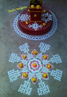 Rani is a popular Rangoli Designer who creates lot of Rangoli's with dots. There are lot of Rangoli designs below which are easy and simpl.