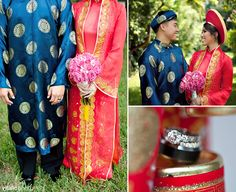 Vietnamese wedding. :) wonder if Eddie will hate me if I make him wear an ao dai haha