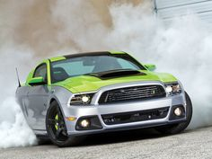 2013 Ford Mustang Roush - It's Just A Phase - Muscle Mustang & Fast Fords Magazine Ford Mustang Roush, Ford Gt, American Auto, American Muscle Cars, E90 Bmw, Pony Car, Performance Cars, Hot Cars, Cars And Motorcycles