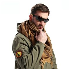 Arabic Winter Military Windproof Scarf