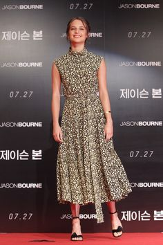 Alicia Vikander Photos - Alicia Vikandar attends the 'Jason Bourne' press conference on July 8, 2016 in Seoul, South Korea. Alicia Vikandar is visiting South Korea to promote her recent film 'Jason Bourne' which will be released in South Korea on July 27. - 'Jason Bourne' Press Conference In Seoul