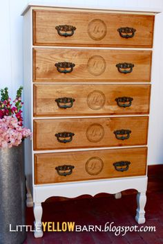 4 the love of wood how to add legs to nightstands refinished
