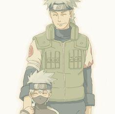 Kakashi and his father