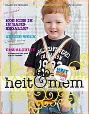 Nr. 2 - 2013  'Mijn zoontje covermodel '