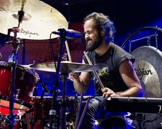 "Drummer Ronnie Vannucci Jnr: ""The older I get, the more I get into heavier sounds."""