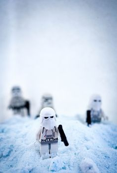 LEGO Star Wars - Amazing what a little washing powder can do to add to the authenticity of the scene