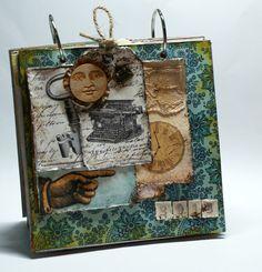 Retro, Vintage Scrapbooking, Scrapbook, Handmade, Steampunk , DIY Vintage Scrapbook, Steampunk Diy, Retro Vintage, About Me Blog, Arts And Crafts, Scrapbooking, Handmade, Hand Made, Art And Craft