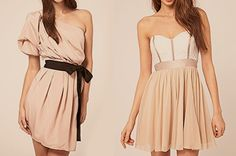I think the dress on the left is super cool :)