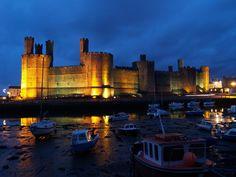 Дворцы и замки Англии: Карнарвон (Caernarfon Castle): masterok