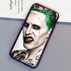 Joker In Suicide Squad Printed Cell Phone Case For iPhone 6 6S Plus 7 7 Plus 5 5S 5C SE 4S Soft Rubber Skin Back Shell Cover