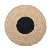 Found it at Temple & Webster - Black Spot Absolon Jute Rug