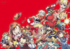 Earthbound by Shirataki (Tatsumairi) Mother 1,2 and 3 (Earthbound 0,1 and 2)