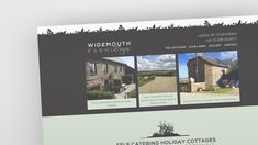 Branding & Website Design for Widemouth Farm Cottages in Bude, Cornwall  #bude #cornwall #branding #website #websitedesign #widemouth #logo #logodesign #farm #cottages Bude Cornwall, Branding Website, Farm Cottage, Website Designs, Cottages, Logo Design, Gallery, Holiday, Beautiful