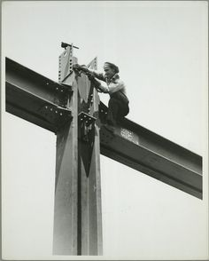 vintage empire state building construction photos by lewis wickes hine 1931 (11)