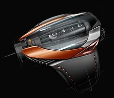 The tourbillon black hole : Concept by Thierry Fischer http://www.coroflot.com/thierry-fischer/