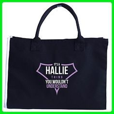 It's A Hallie Thing You Wouldn't Understand - Tote Bag - Top handle bags (*Amazon Partner-Link)