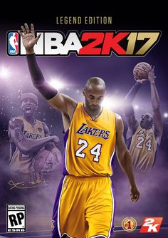 10a4653d26946 Kobe Bryant Gets NBA 2K17 Legend Edition Cover ...