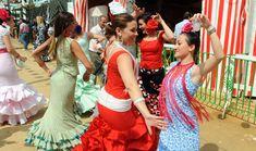 Der Políngano.com: Bailando por sevillanas