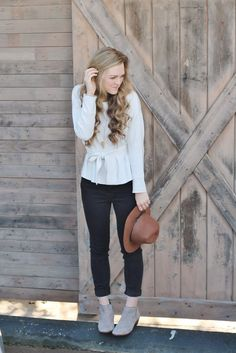 four boots, four ways (part one) // Shawna Leeann in the Sloan Necklace