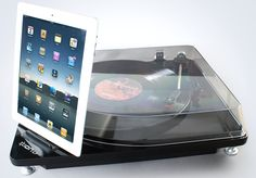 retro record player ilp 1 - brings your vinyl records to your iPad.