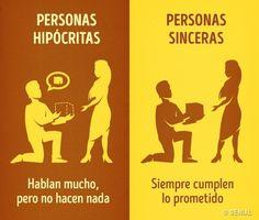8Señales que teayudarán adistinguir auna persona sincera deuna hipócrita