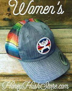 Serape colors in this beautiful Hooey cap for women.