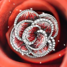 You like uniqueness, that's why you'll fall in love with this beautiful rose. #sicis #sicisjewels #jewelry #jewelrygram #jewelrydesign #jewelrydesign #jewelrymaking #jewelryoftheday #jewels #luxury #luxurylifestyle #jewelrymaking #micromosaic #diamonds #diamondjewelry  #ring
