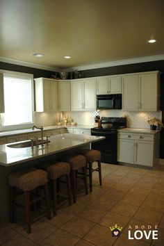 abode love: a man's home is his wife's castle: backsplash