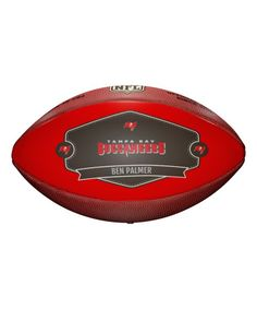 Tampa Bay Buccaneers Badge of Honor Personalized Football
