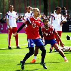 Welcome back to team training, Arjen