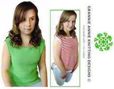 Cotton Tops knitting pattern