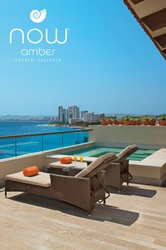 Escape to Now Amber Puerto Vallarta, a AAA Four Diamond resort located in the heart of the Puerto Vallarta on the West coast of Mexico. Outdoor Sofa, Outdoor Furniture Sets, Outdoor Decor, Now Amber Puerto Vallarta, Mexico Resorts, West Coast, Paradise, Book, Outdoor Couch