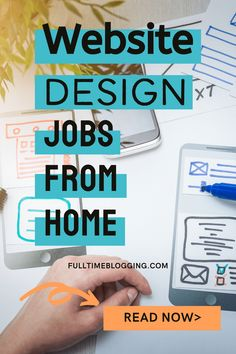 If you work for one of the website design jobs from home, your primary role is to make a website look and feel according to what a client or company requires. You could create wireframes, icons and images for websites. You may code your websites using languages such as HTML, CSS and JavaScript; or make use of applications and content management systems such as Drupal, Joomla, and WordPress. You will perform all these and more not from a standard office, but from your home. Read on to learn… Make Money From Home, Make Money Online, How To Make Money, Online Income, Online Jobs, Amazing Websites, Drupal, Virtual Assistant, Extra Money