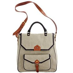 I think I may be obsessed with canvas bags...Especially this one!  canvas, large, bag, stachel, madewell.