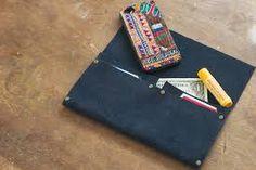 Resultado de imagem para simple leather wallet pattern
