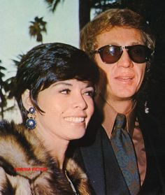 Steve McQueen with His Wife I Personal Life