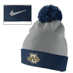 Item #22636 Swoosh Pom Beanie By Nike. $25.00. Stop in or call 414-288-3050 to order.