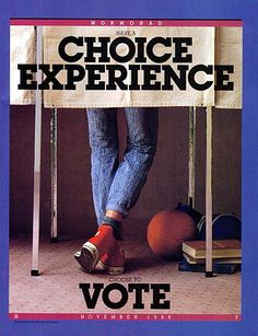 Voting...a right that should be exercised regularly!