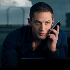 This is what my boyfriend Tom Hardy looks like when we are talking on the phone to each other....haha ok ok I'm just kiddin'...he's usually naked...lol