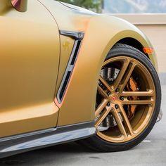 Vossen Forged CG-202 on new Nissan GT-R in 20x10.5 @Vossen @NissanUsa @WheelsPerformance