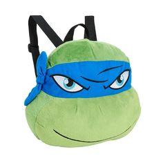 Innovations Teenage Mutant Ninja Turtle Leonardo Plush Backpack
