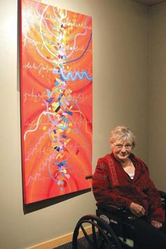Greeley artist Carolyn Hoyle's work reflects specific pieces of music.