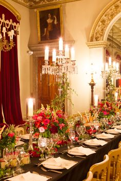Read More: http://stylemepretty.com/2013/10/30/belvoir-castle-england-wedding-from-catherine-mead-photography/