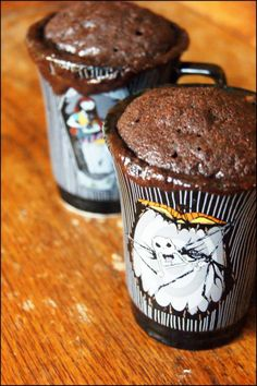mug cakes chocolat ( 2 pers)