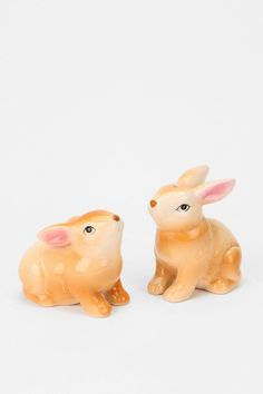 Bunny Salt And Pepper Shaker - Set Of 2 Online Only Soooo cute for my collection!!!!@