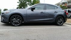mazda 3 meteor gray mica black wheels - Buscar con Google