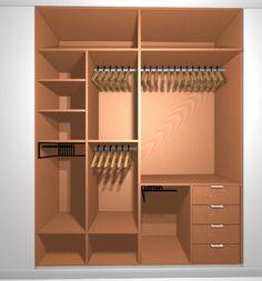 armario empotrado nova jesus 1 Interior por muebles gimenez plasencia