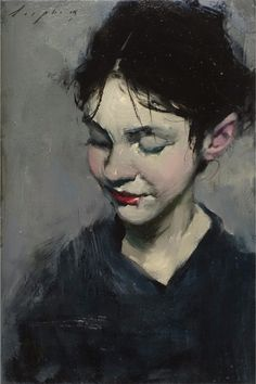 malcolm liepke | Sensual Oil Painting Portraits by Malcolm Liepke | Yellowtrace