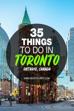 Planning a trip to Toronto and wondering what to do there? This travel guide will show you the top attractions, best activities, places to visit & fun things to do in Toronto, Canada! Start planning your itinerary & bucket list now! #toronto #thingstodointoronto #canada #canadatravel #travelcanada #torontotravel #vacationcanada #canadavacation Travel Guides, Travel Tips, Canada Funny, Canada Destinations, Toronto Travel, Canadian Travel, Visit Canada, Toronto Canada, Travel Around The World